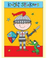 Knight Sticker Match Note Pad